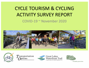 Fall Cycle Tourism and Cycling Activity Report